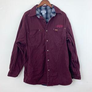 Carhartt Flannel Lined Canvas Shirt Jac